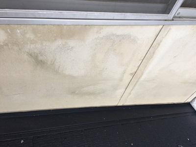 外壁の清掃