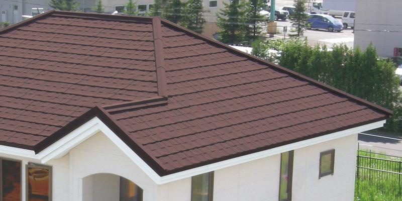 ストーンチップ屋根1