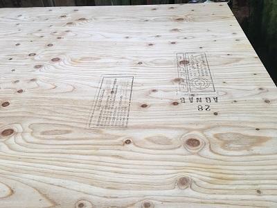 野地板の構造用合板