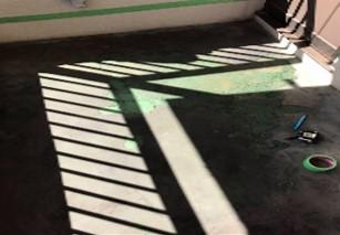 広島市バルコニー防水のリフォーム工事