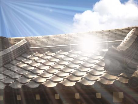 真夏の屋根