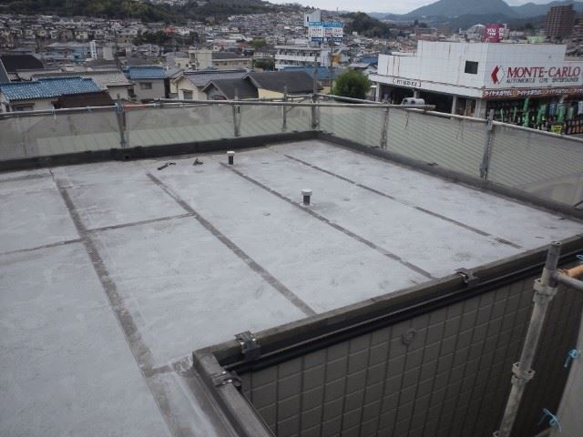 陸屋根のシート防水施工前
