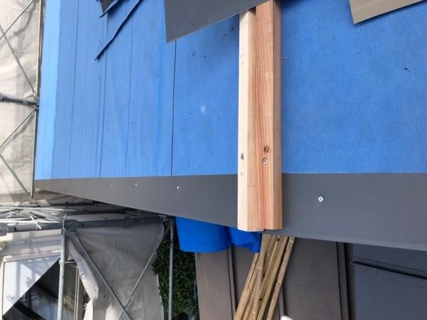 広島市佐伯区にて屋根葺き替え工事。クイックルーフの施工
