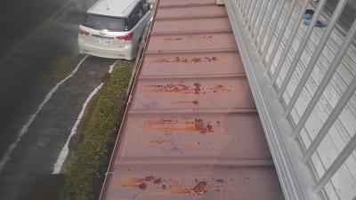 板金の塗装の劣化